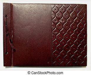 scrapbook - brown scrapbook