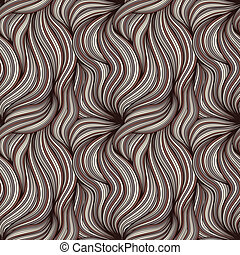 Brown seamless background with hair