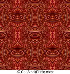Brown seamless psychedelic abstract spiral stripe pattern background