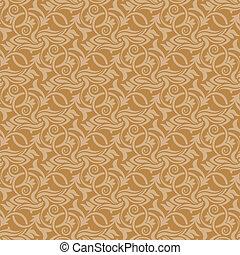 Brown seamless wallpaper pattern