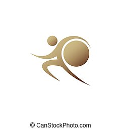 Brown sportman and world