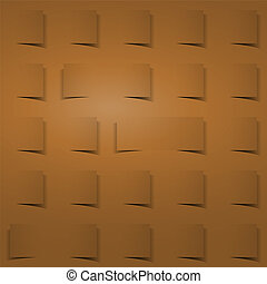 brown square background