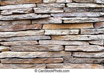 Brown stone wall, background, texture