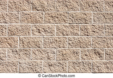 Brown Stone Wall for Background