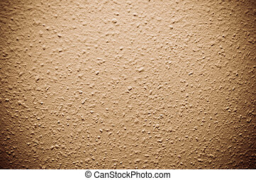 brown structural painted wallpaper on the wall