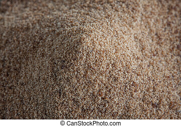Brown Sugar heap, macro background