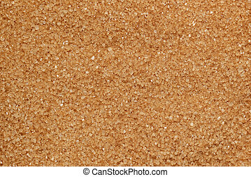Brown sugar texture macro shot