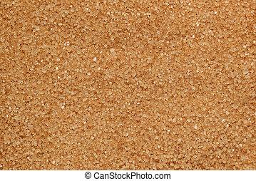 Brown sugar texture macro shot