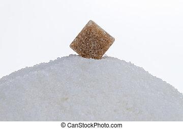 brown sugar. unhealthy diet