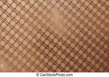 Brown tablecloth texture