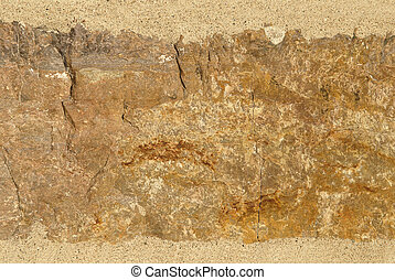 Brown, tan, and orange stone texture background - Stone...