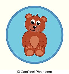 brown teddy bear baby boy