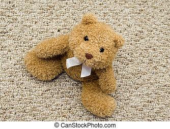 brown teddy