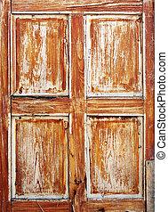 Brown texture of old door