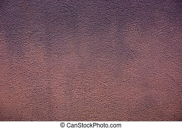 brown texture of plaster with a pattern on the wall