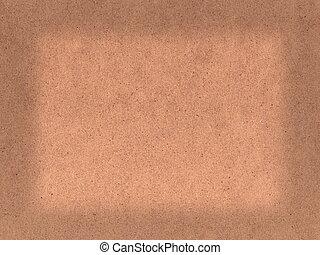 hardboard blank background - Brown textured hardboard blank...