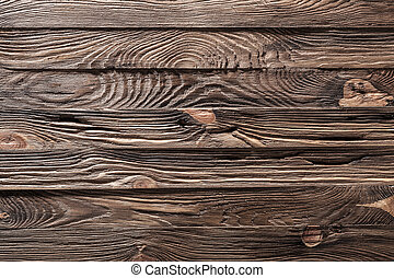 brown vintage wooden surface close up
