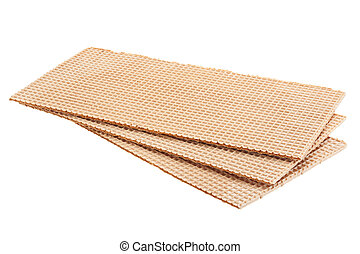 Brown wafer background