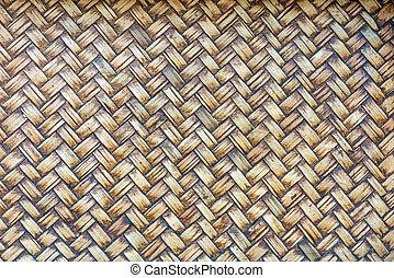 Brown weave pattern