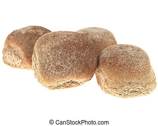 Brown Wholemeal Bread Rolls