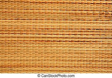 Brown wicker matting texture