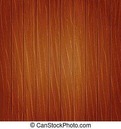 Brown wooden background. Planks. Vector illustration. EPS10.