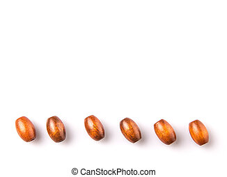 Brown Wooden Beads
