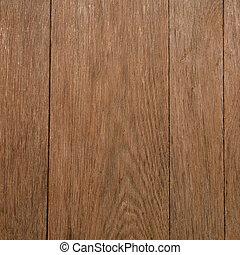 Brown wooden desk texture closeup