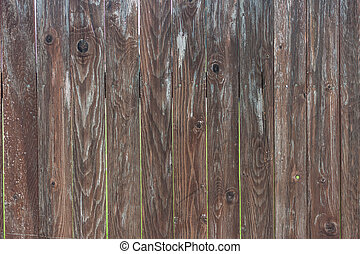 brown wooden fence textured background with copyspace
