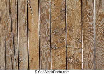 Brown wooden grunge door texture