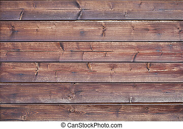 Brown wooden grunge door texture.