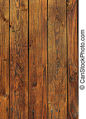 Brown wooden planks background