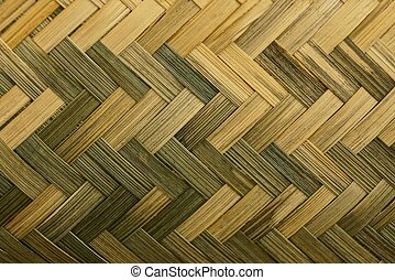 brown wooden texture of a wicker basket