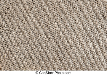 Brown wool knit texture - Knit texture of undyed brown...