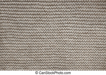 Brown wool knit texture - Knit texture of undyed natural...