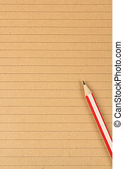 Brown writing paper background