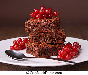 brownies and currant