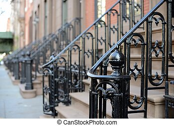 Brownstone Apartment steps in the Chelsea neighborhood of ...