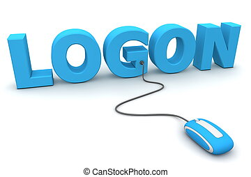 Browse and Logon - Blue Mouse