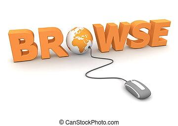Browse Around - Orange