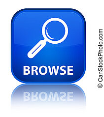 Browse special blue square button