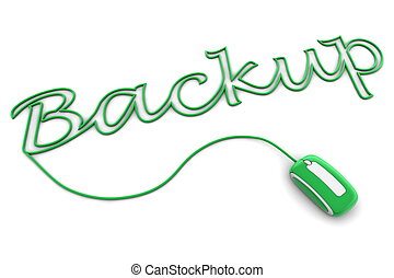 Browse the Glossy Green Backup Cable