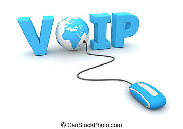 Browse the Voice over IP - VoIP - World - Blue - modern blue...