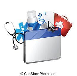 browser medical concept