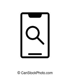 browsing  glyph flat icon
