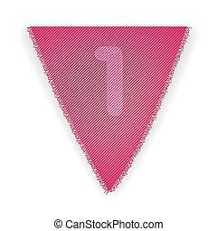bruant, 1, drapeau, nombre