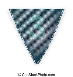 bruant, drapeau, numéro 3