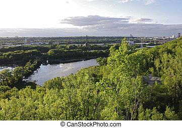 Bruce Vento Scenic Overlook in Saint Paul