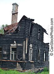 bruciato, costruzione.
