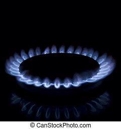 bruciatore a gas